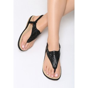 Elegantné dámske sandále čierne