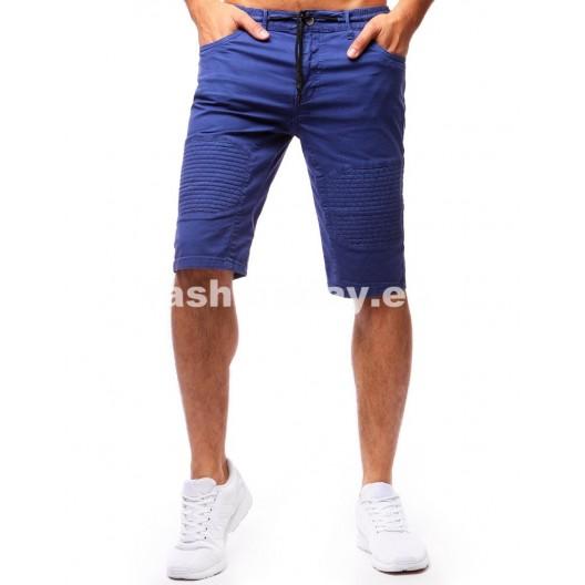 Šortky pre pánov modrej farby