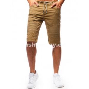 Krátke nohavice pánske béžove