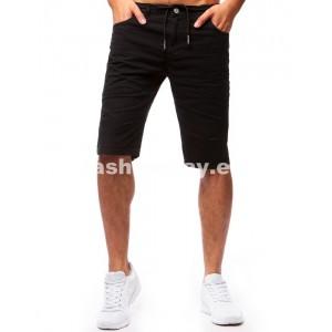 Pánske šortky v čiernej farbe