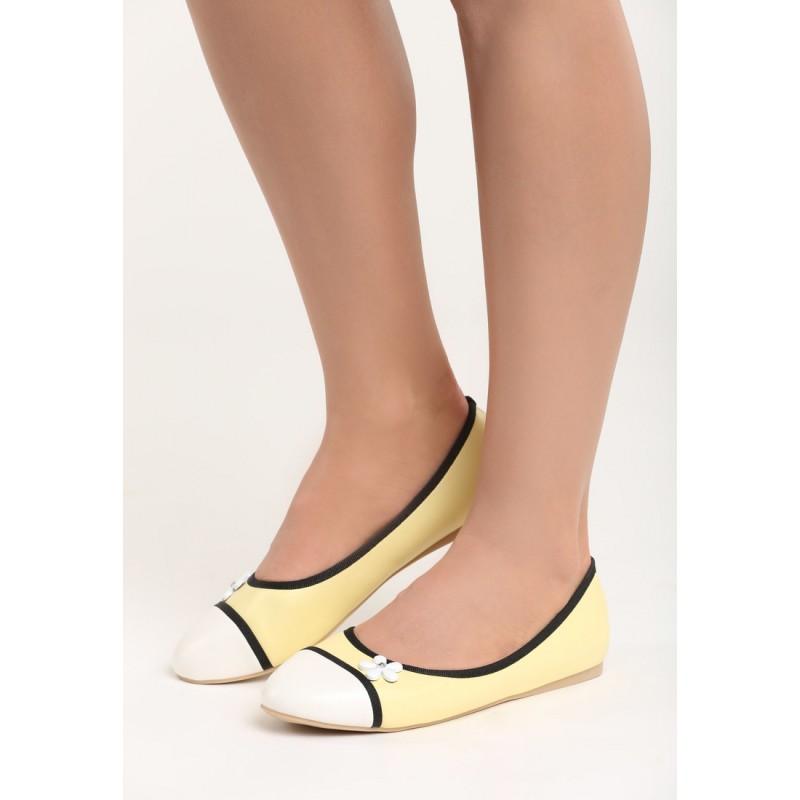 2c999123b60f0 Žlté balerínky pre dámy