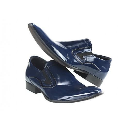 Pánske mokasíny modré ID:480