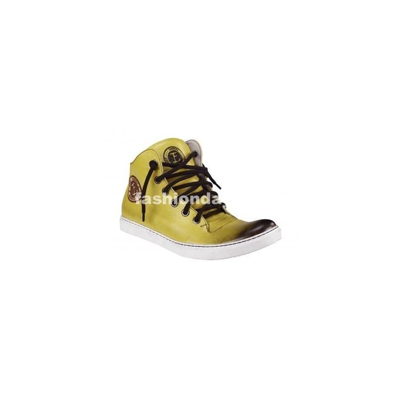 d08223768a9e Pánske kožené športové topánky žlté - fashionday.eu