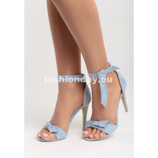 Dámske sandále svetlo modrej farby
