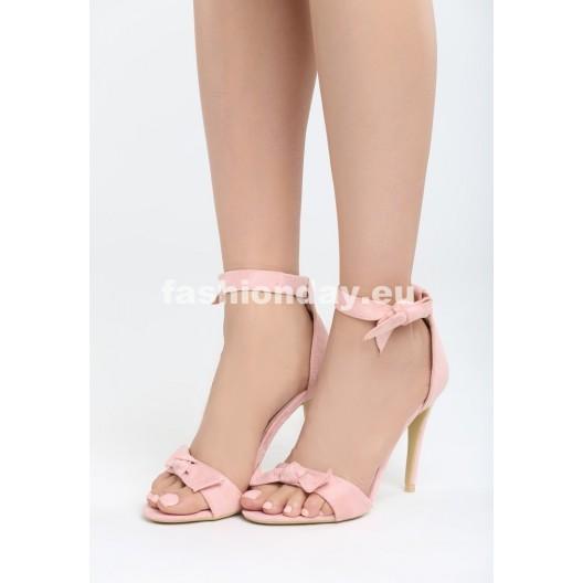 Sandálky v ružovej farbe