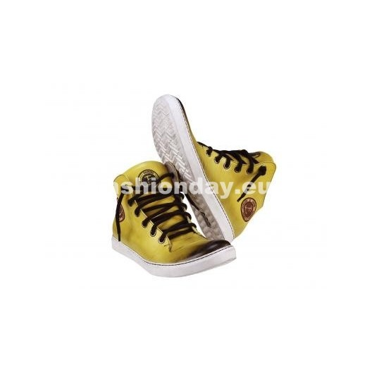 Športová pánska obuv - žltá