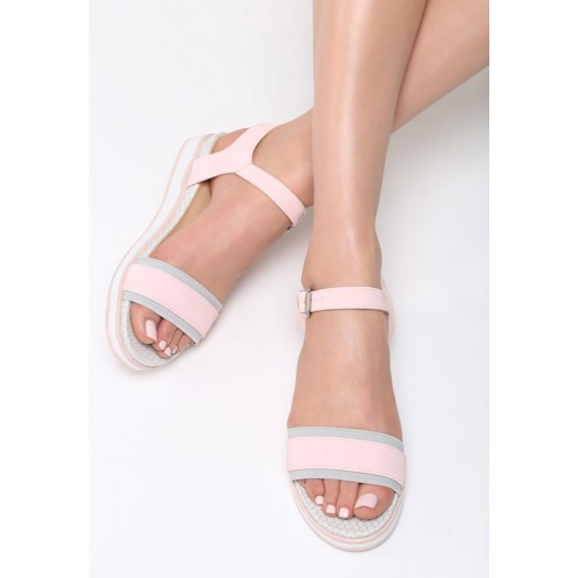 Dámske letné sandále na platforme