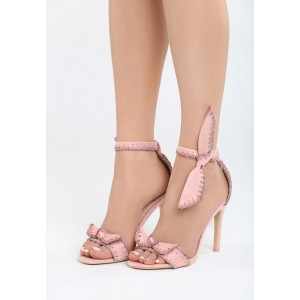 Sandále na vysokom opätku