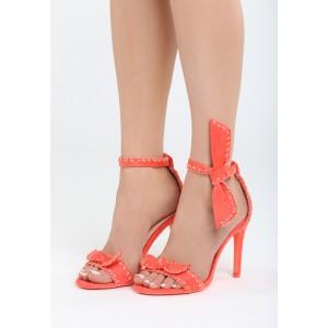 Dámske sandále s viazaním