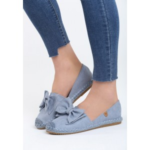 Dámska letná obuv v modrej farbe