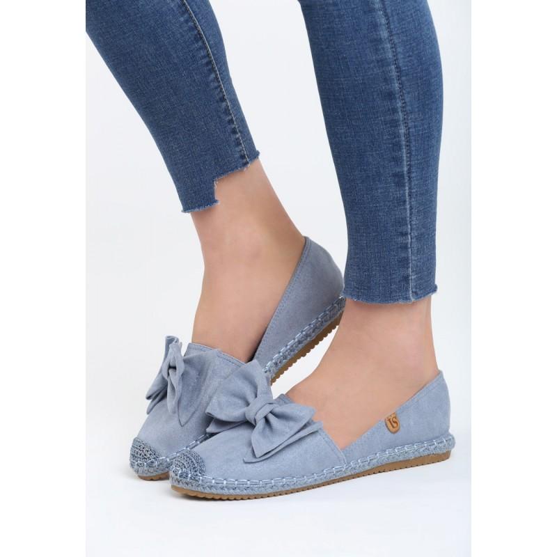 0202c360b7 Dámska letná obuv v modrej farbe