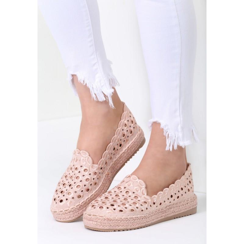 1bdb6f649f Letná dámska obuv v ružovej farbe