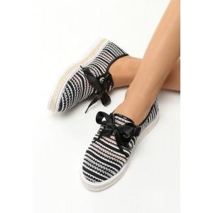 Letná dámska obuv s mašľou