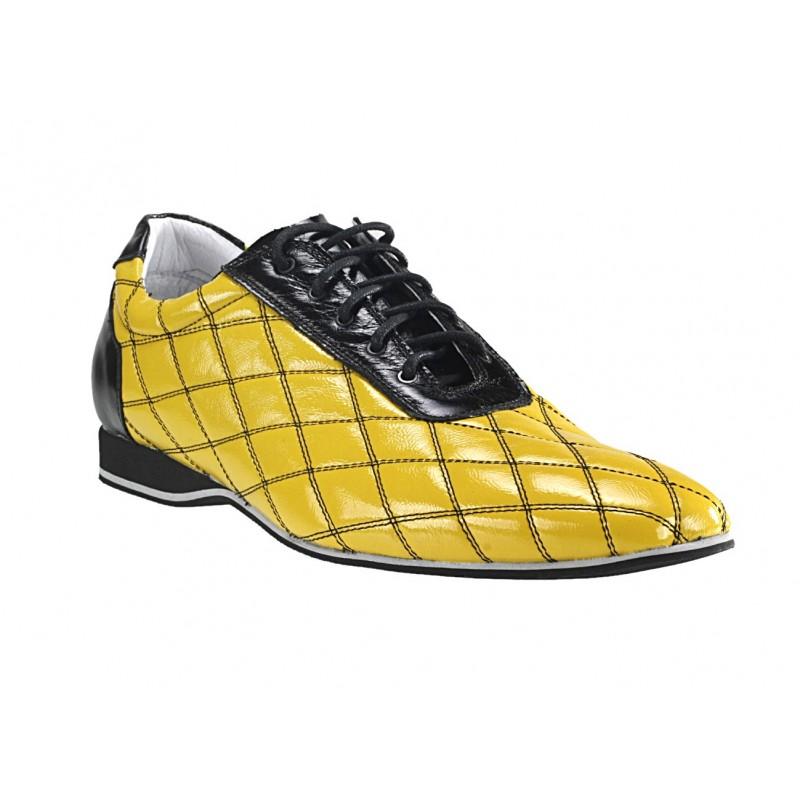 9375e5e5c3 Predchádzajúci. Pánske kožené športové topánky žlté ...