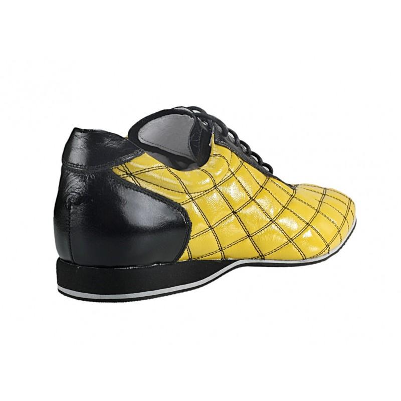 d9fbf04af8 Pánske kožené športové topánky žlté - fashionday.eu