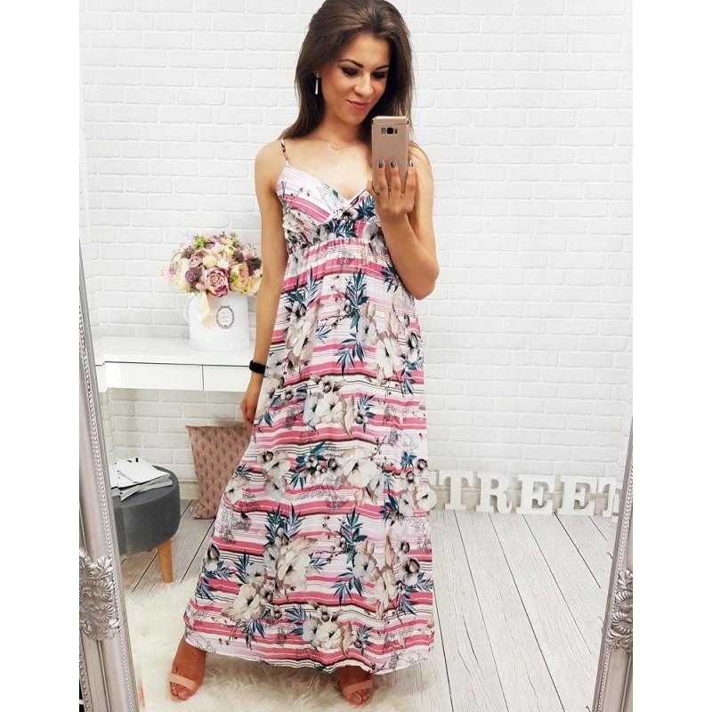 2f1ff8216 Krásne letné šaty ružovej farby