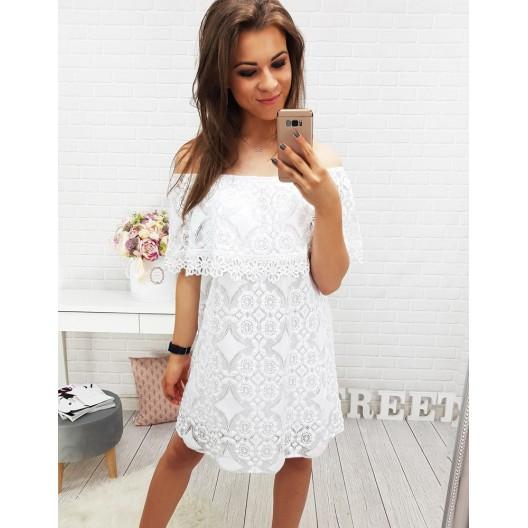 Letné biele šaty