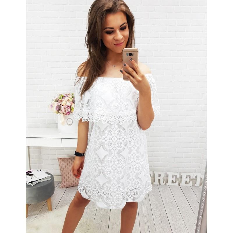 Letné biele šaty e64e3b8dd54
