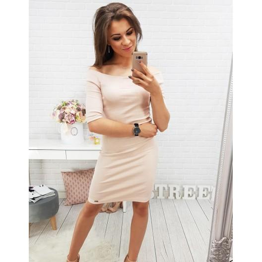 Ružové šaty na leto