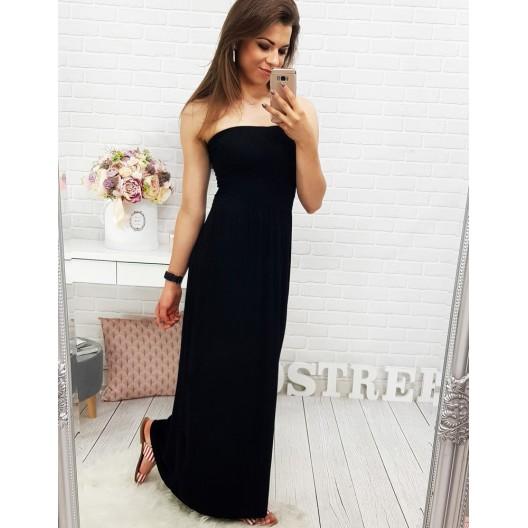 Čierne dlhé šaty