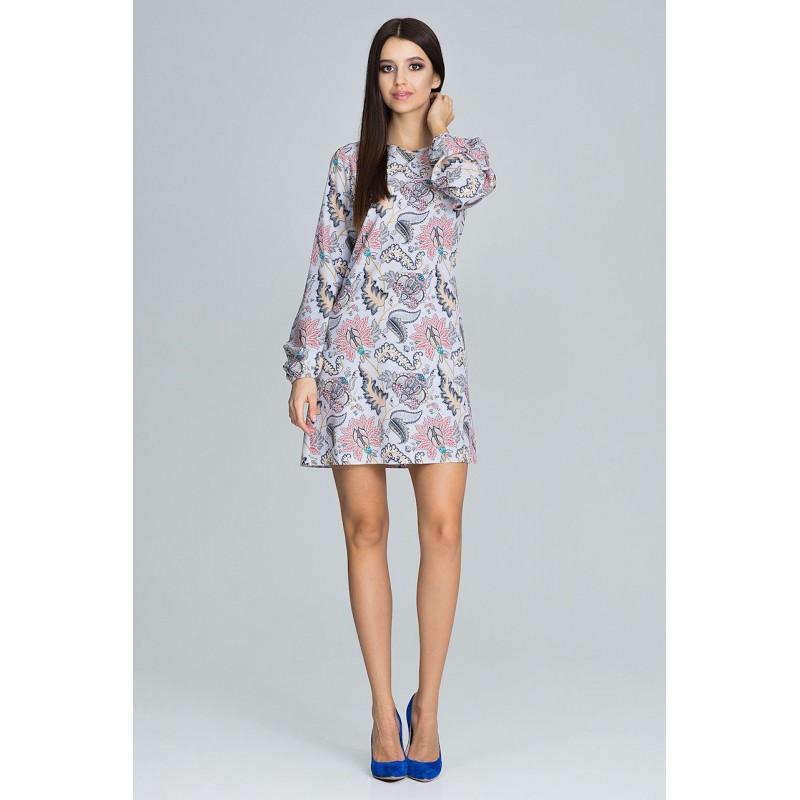 e072a8683 Letné šaty s kvetovaným vzorom
