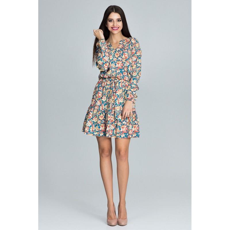 a6bf7c5c4174 Krátke šaty pre dámy s kvetmi