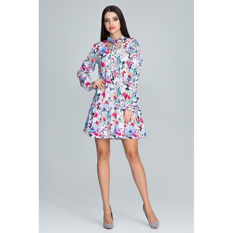 7b92dda6c9d3 Letné šaty krátke s kvetmi
