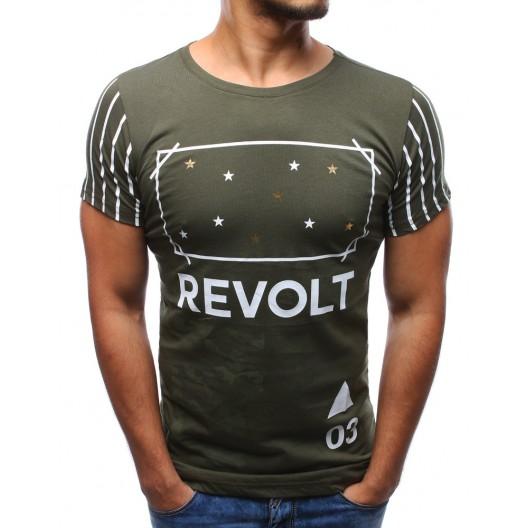 Bavlnené trička zelenej farby