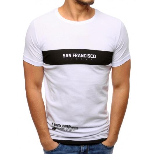 Moderné pánske trička s nápisom