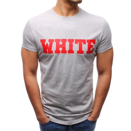 Pánske tričko sivej farby