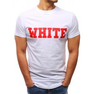 Tričko biele s nápisom